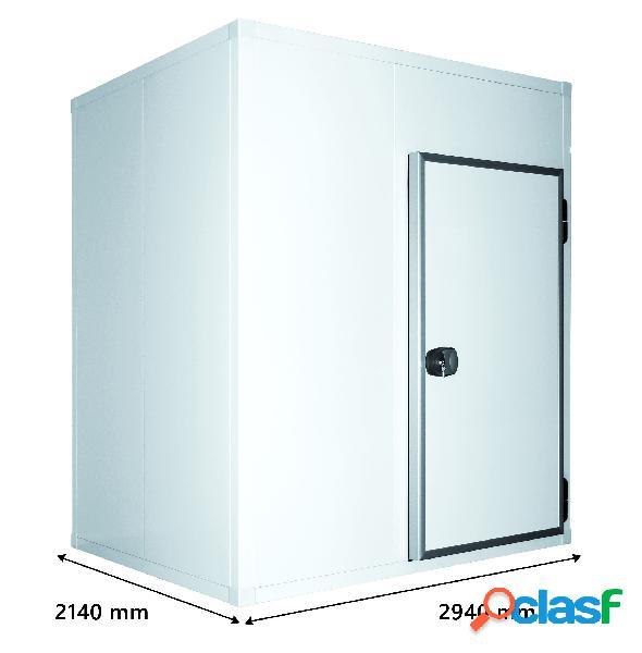 Cella frigorifera positiva senza pavimento - l 2940 mm x p 2140 mm x h 2070 mm