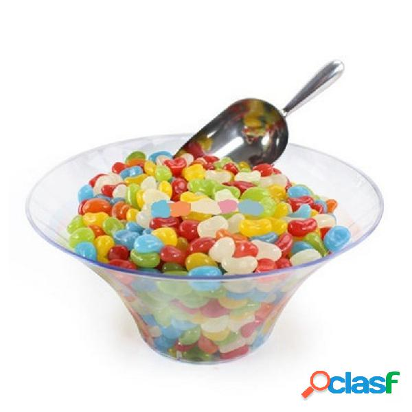 2 x contenitori per confetti e caramelle ciotola in plastica trasparente 23 cm 477882-86