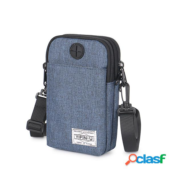 Telefono a tracolla multifunzione solido oxfold borsa vita impermeabile borsa