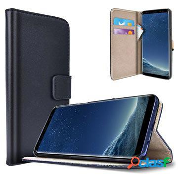 Samsung galaxy s8 saii classic wallet case - black