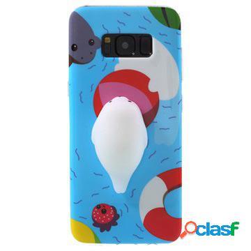 Samsung galaxy s8 squishy 3d toy case - seal