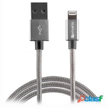 Cavo lightning 4smarts rapidcord - iphone, ipad, ipod - 2m - grigio