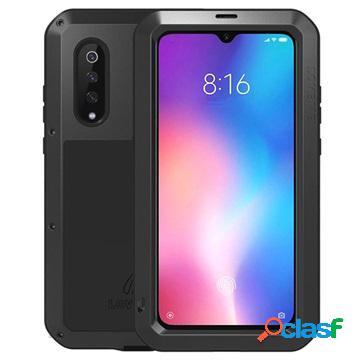 Love mei powerful xiaomi mi 9 hybrid case - black