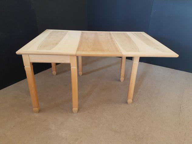 Tavoli trasformabili in legno grezzo - nuovi