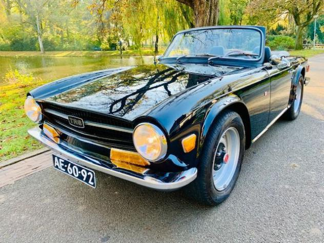 Triumph - tr6 roadster - 1971