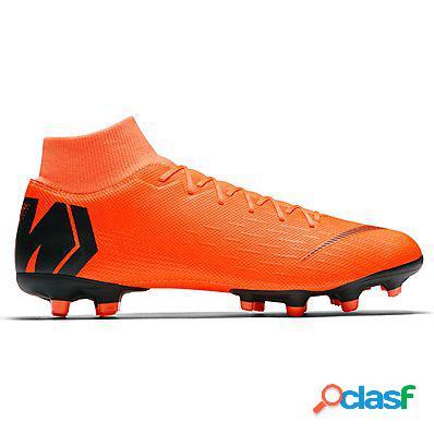 Nike scarpe calcio superfly 6 academy mg uomo arancio
