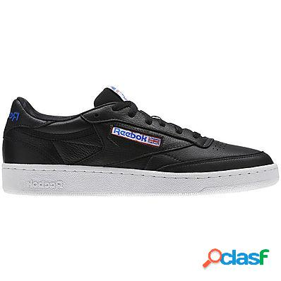 Reebok scarpe club c 85 so uomo nero