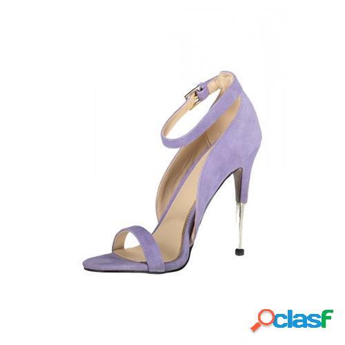 Guess calzatura sandalo viola donna