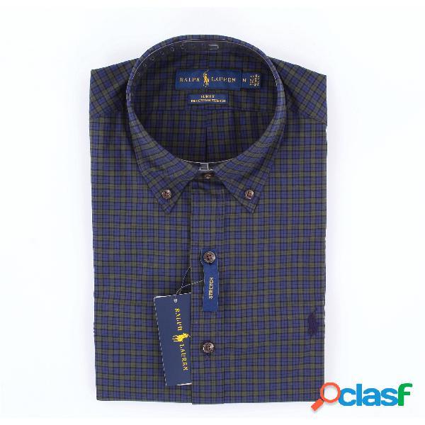 Biba AZZURRO Classica Camicia Camicia 100/% COTONE MIS 42