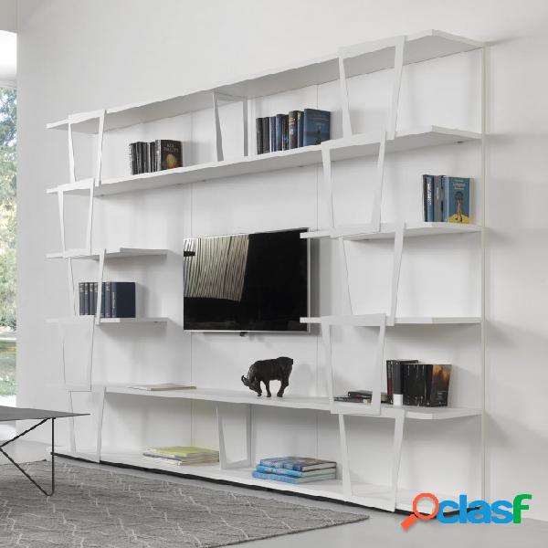 Pezzani libreria trapezio tv