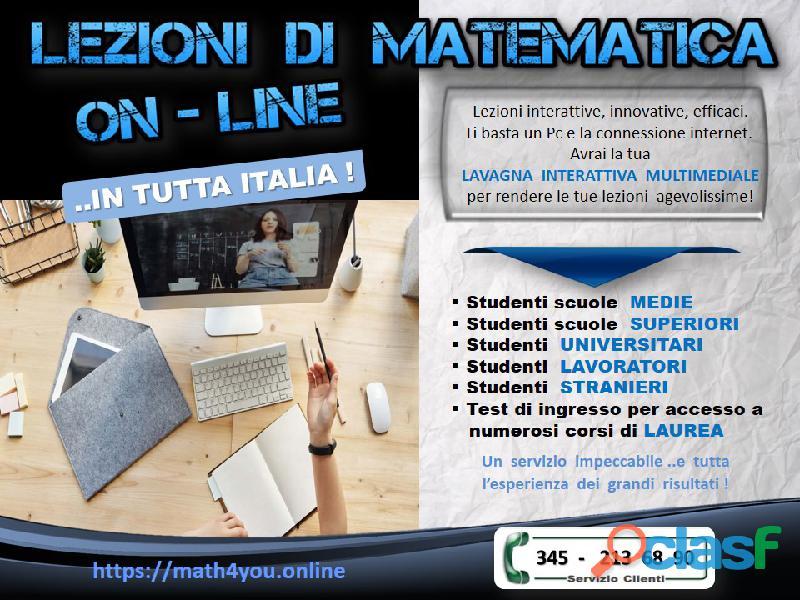 Matematica   preparazione a test di ingresso, concorsi ed universitari.