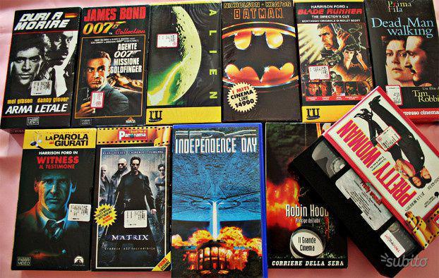 365 film vhs originali | nuove!! | prezzo libero da