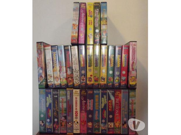 60 vhs cartoni animati