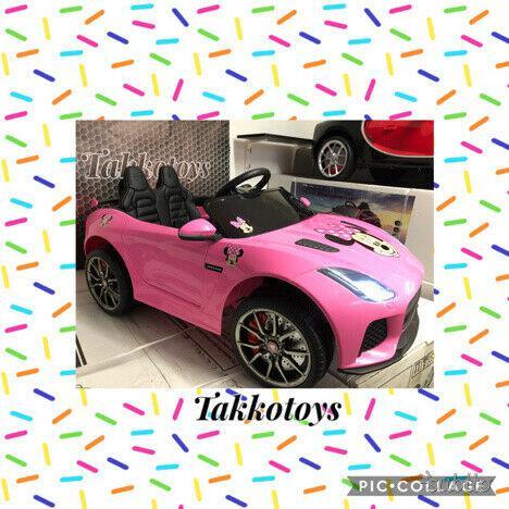 Auto macchina elettrica jaguar (minnie)