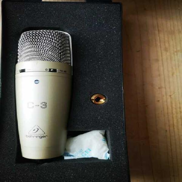 Microfono behringer c3