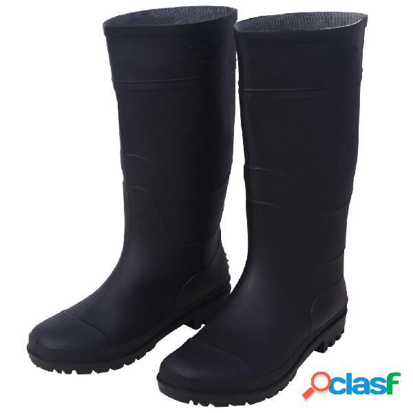 Stivali da pioggia da Uomo Cilindro di Gomma ad Alta