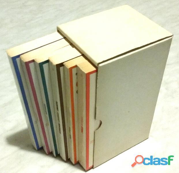 Cofanetto di sei volumi di angelo ricci; ed.grafica artigiana, castelbolognese (ra), 1979 perfetto