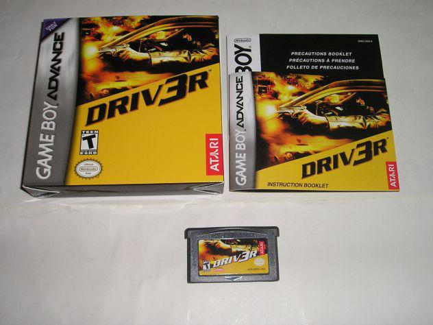 Gioco game boy advance - driver
