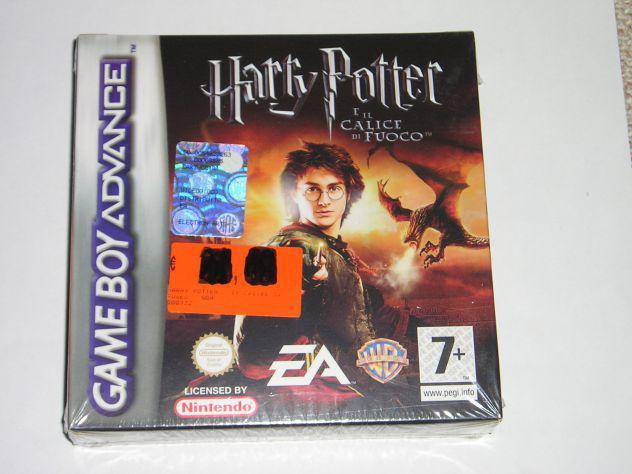 Gioco game boy advance - harry potter e il calice di fuoco