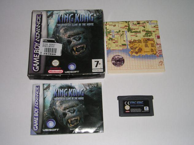 Gioco game boy advance - king kong the official game teh
