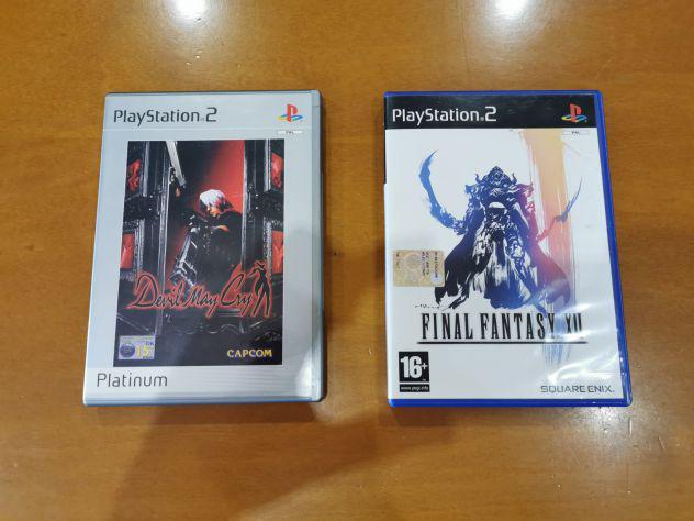 Giochi PS2 Playstation 2 Devil May Cry e Final Fantasy XII