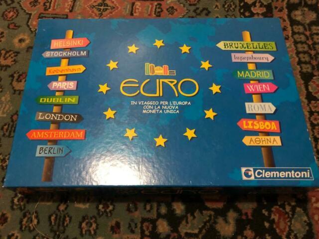 """Gioco in scatola """"euro"""" clementoni"""