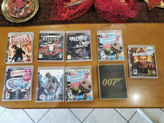 Lotto 9 giochi playstation 3 ps3 in ottime condizioni