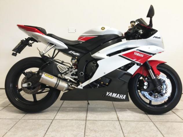 Yamaha yzf r6 rossa bianca rif. 13601940