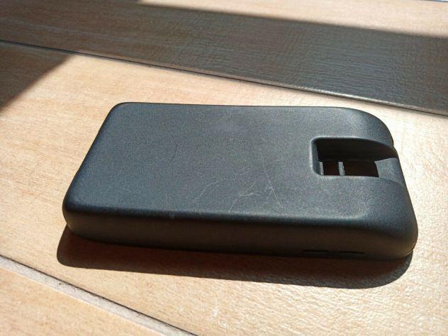Cover extrabatteria silicone nero samsung s5
