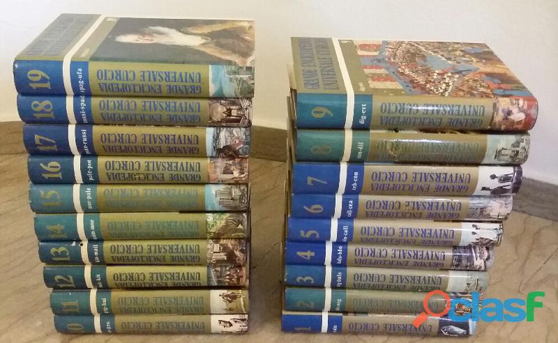 Grande enciclopedia universale curcio 19 volumi 1976 come nuovo