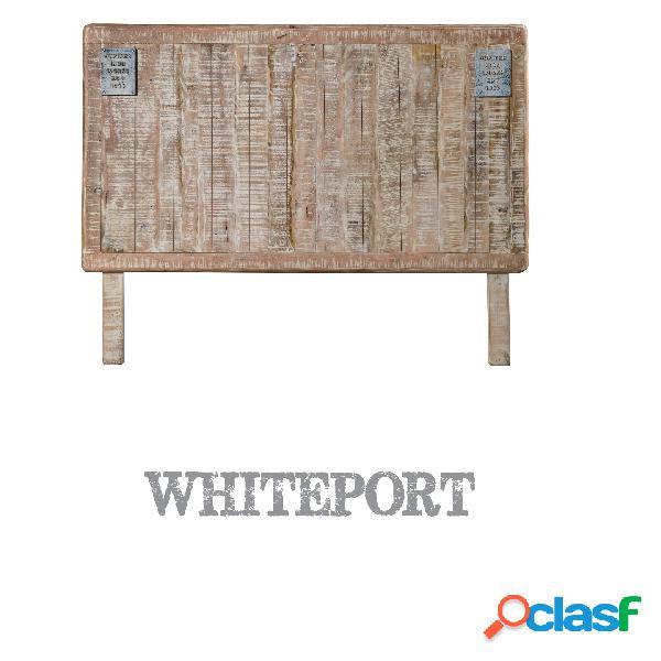 Testiera letto whiteport