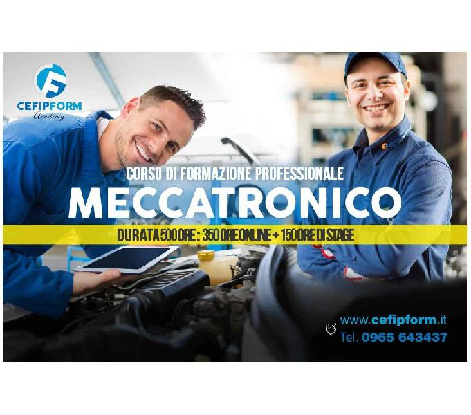 Corso meccatronico trento online