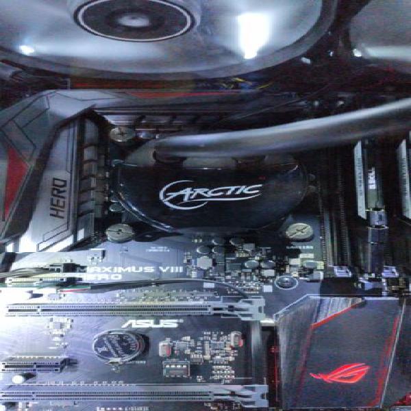 Computer fisso i5 6600k, 16gb ram, asus maximus viii hero