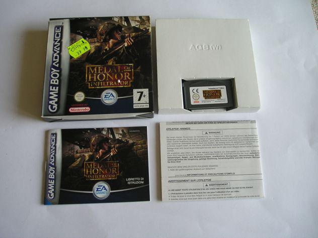 Gioco game boy advance - medal of honor infiltrator