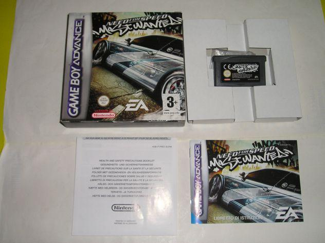Gioco game boy advance - need for speed most wanted