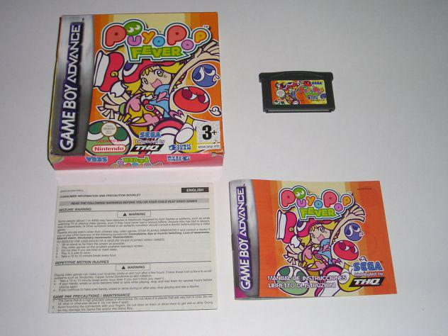 Gioco game boy advance - poyopop fever