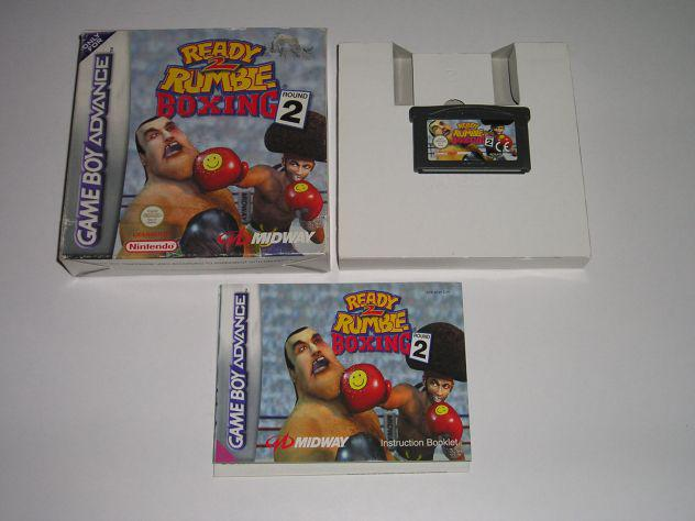 Gioco game boy advance - ready rumble boxing 2