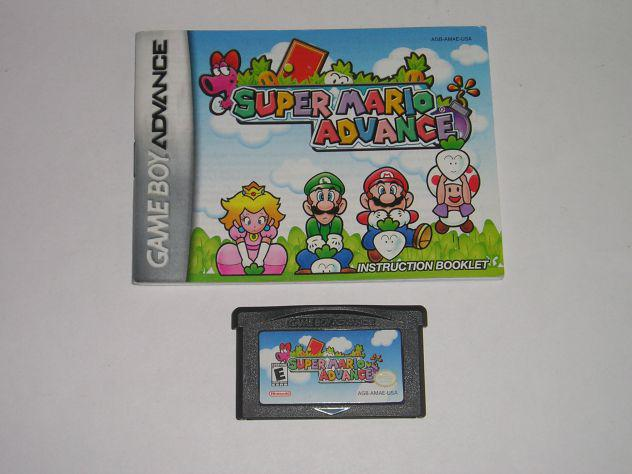 Gioco game boy advance - super mario advance