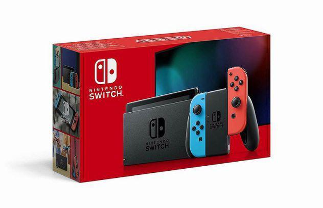 Nintendo switch rosso blu nuovo italiano sigillato garanzia