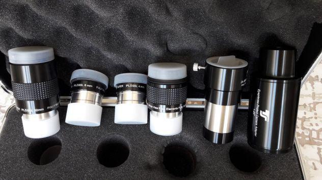 Valigetta ts optics con oculari plössl e accessori