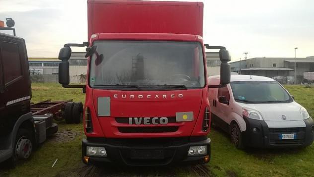 Iveco eurocargo ml80e18 box + sponda