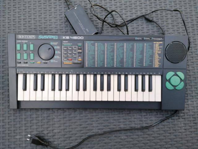 Pianola bontempi system k5 4600