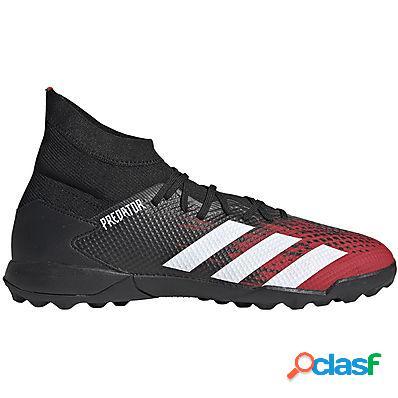 Adidas predator 20.3 turf boots uomo cblack/ftwwht/actred