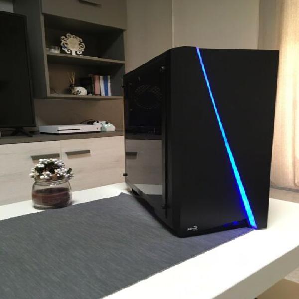 Pc da gaming (ryzen 3 1200af, 8gb ram, ssd e rx 570) desktop