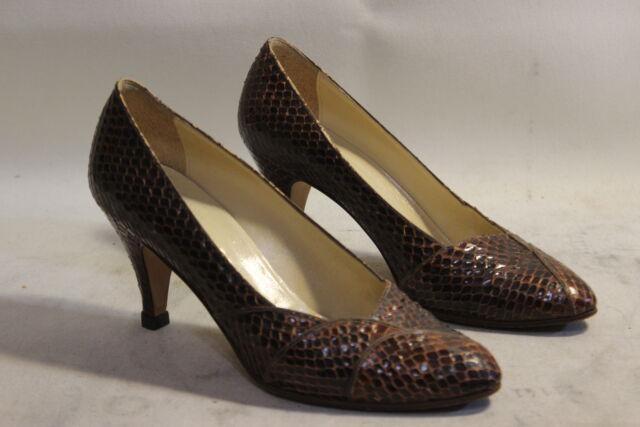 Scarpe decolleté da donna vero pitone 38