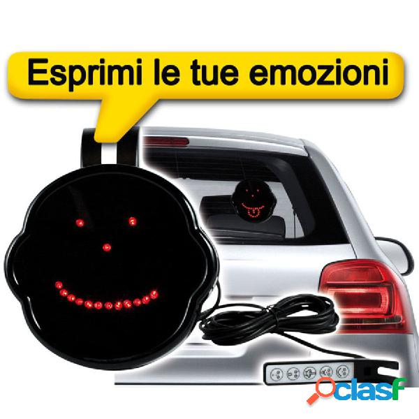 Display led your car message