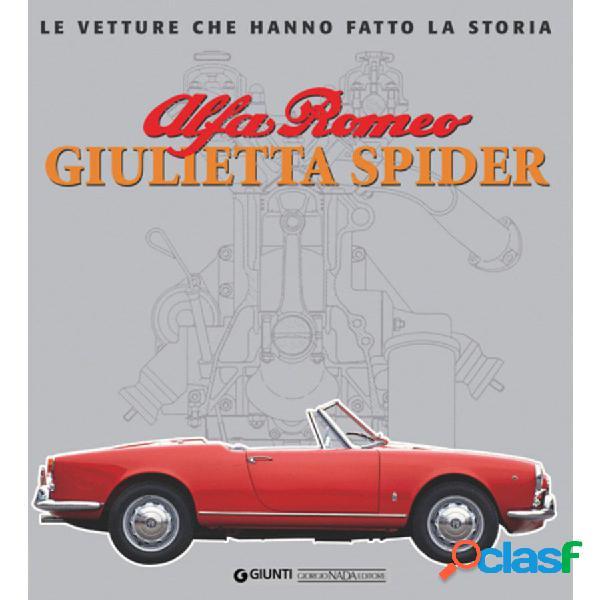 Libro alfa romeo giulietta spider