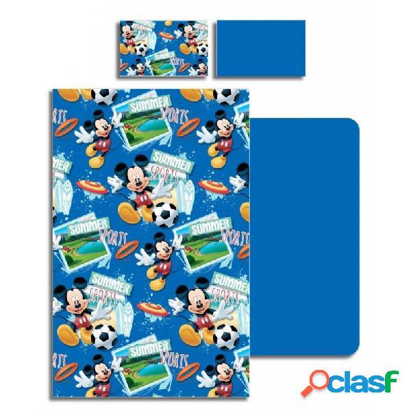 Completo lenzuola letto bambino topolino mickey mouse mic-b6485