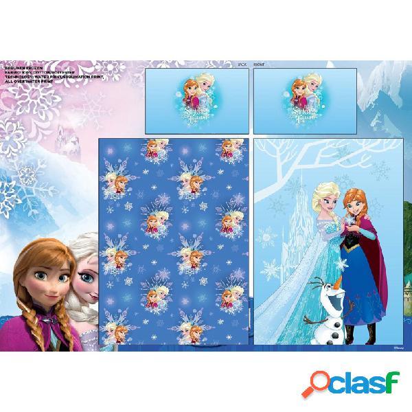 Completo set lenzuola letto singolo frozen 55715