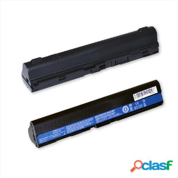 Batteria color nero per acer al12b32 li-ion 5200 mah